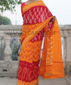 Pochampally Handloom Ikkat Cotton Saree