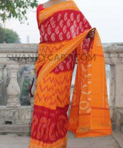 Pochampally Handloom Ikkat Cotton Saree